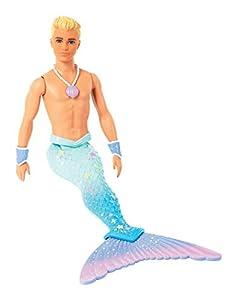 Barbie Dreamtopia - Muñeco Ken Tritón (Mattel FXT23)