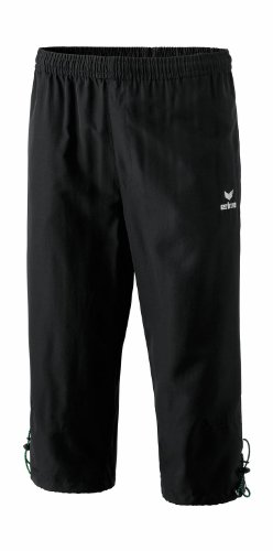 erima Sporthose 3/4 Hose - Pantalones Pirata de Fitness para Mujer, Color Negro, Talla DE: 140