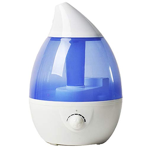 WO NICE Humidificador Inteligente Humedad Constante Colorida Luz de la Noche Automático Protección sin Agua Nano Fino Niebla 3L Niebla fría Humidificador Difusor de Aroma