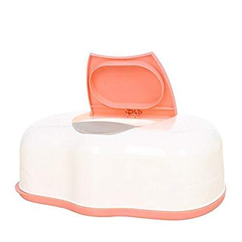 Caja de plástico para toallitas húmedas de bebé, Caja de pañuelo automático, dispensador de toallitas con diseño de Pop-up para el hogar, Accesorios para pañuelos, Color al Azar