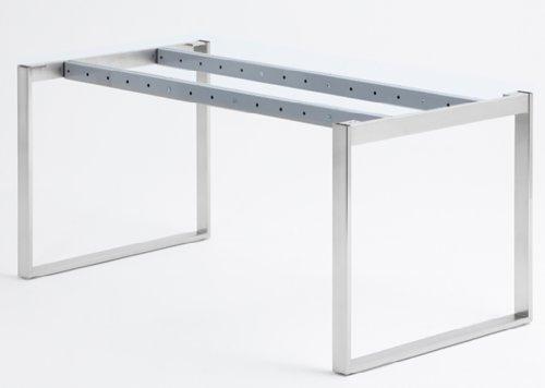 Naber Essere Tischgestell, Edelstahl, verstellbar in 100 mm Raster, Artikelnummer 3031009
