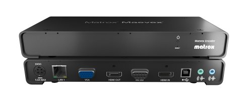 Matrox Maevex 5150 Encoder - 1080p60 H.264 Video über IP (H. 264 Video-encoder)