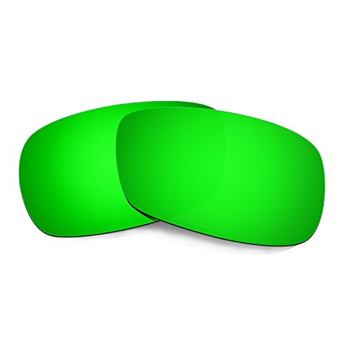 HKUCO Plus Mens Replacement Lenses For Oakley Crosshair 2.0 Sunglasses Emerald Green Polarized