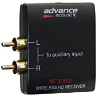Advance Acoustic WTX 500 Module Bluetooth pour Tablette/Smartphone 5 V Portée 10 à 15 m