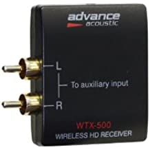 Advance Acoustic WTX 500 blk Modulo Wireless, Bluetooth, Nero