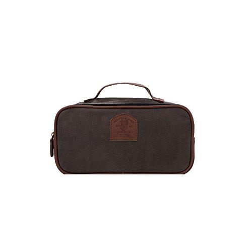 Brompton & Langley Traveler Tasche, grau/braun