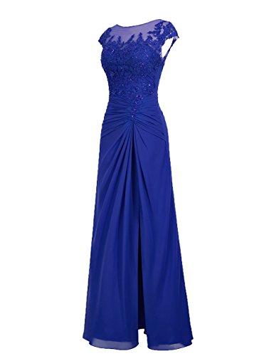 Dresstells, robe de soirée mousseline, robe de cérémonie, robe longueur ras du sol de demoiselle d'honneur Blush
