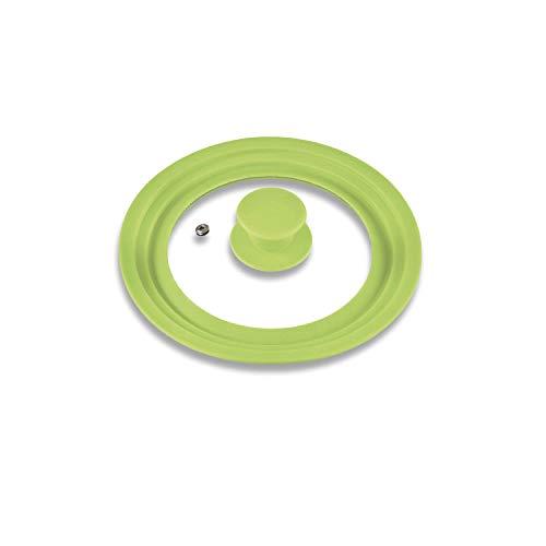 Coperchio universale bremermann® con bordo in silicone, 16/18/20 cm, piccolo