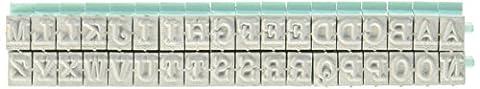 Contact USA CU-07076 Pegz Upper Alpha Stamp Set Small 36ct Pegz Upperase Alphabet Stamp Set,Pool