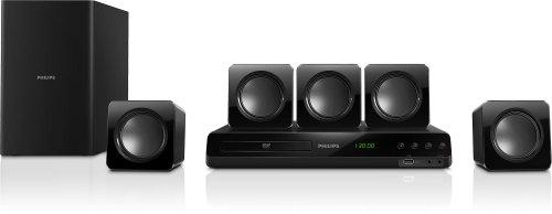 Philips HTD3510 - Equipo de Home Cinema 5.1 (300 W, HDMI, USB), negro