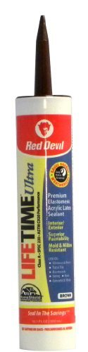 red-devil-077040-lifetime-ultra-premium-elastomeric-acrylic-latex-sealant-101-ounce-brown-by-red-dev