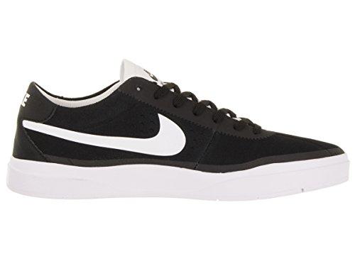 Chaussure De Skate Nike Bruin Sb Hyperfeel, Noir / Blanc-blanc Pour Homme