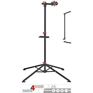 P4B Stahl Montageständer Werkstattständer für Fahrräder E-Bike bis 30 kg