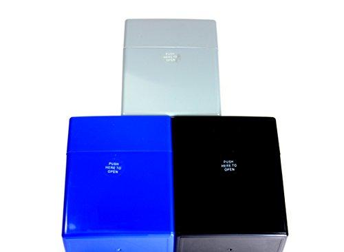 KOGU 3 Zigarettenboxen Pop Up XXL Zigaretten Big Box ohne Steg 40er 3er Set