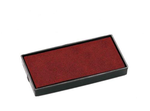 Colop E40 Cuscinetti di Ricambio per Timbri Printer 40, Colore Rosso