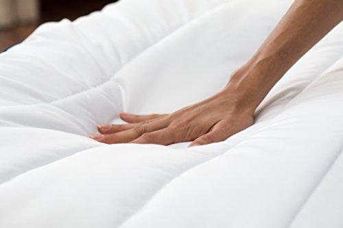 SOMNOS Therapiebettdecke Gewichtsdecke, Schwere Decke für Erwachsene für besseren Schlaf Grösse - 135 x 200 cm, 9 Kg. - 7