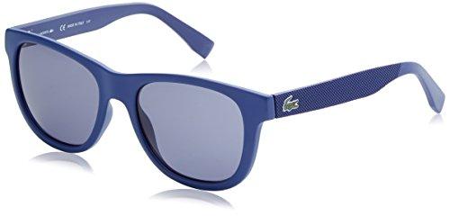 Lacoste wayfarer eye, occhiali da sole unisex adulto, blu, 54