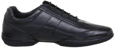 Geox U City J, Chaussures de ville homme Noir (Black)