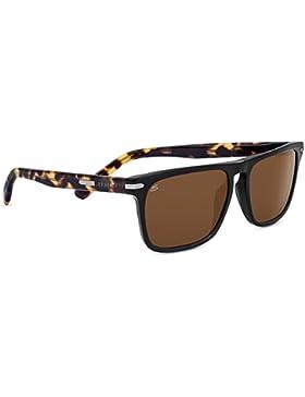 Serengeti Large Carlo, Gafas de Sol para Hombre, Black/Mossy Oak, L