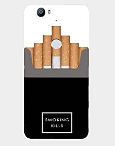 Back Cover for Nexus 6P Smoking Kills