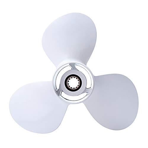 ZHENWOFC Aluminium 11 5/8 x 11-G Außenborder 3 Propeller-Propeller für YAMAHA 40-60HP Hardware-Ersatzteile -