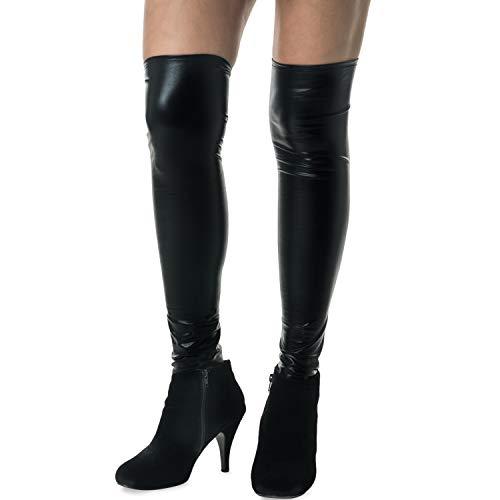 Abdeckung Boot Kostüm - Unbranded Damen Sexy Knee High Pirate Stag Pretty Woman Stiefelgamaschen Abdeckungen Abendkleid