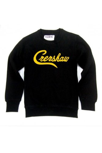 Magic custom - Sweat Col rond Crenshaw Bleu Clair