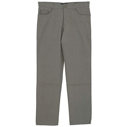 Brax, Cooper Fancy, Herren Herren Jeans Hose Popeline Stretch Graubraun Meliert W 34 L 34 [21071] -