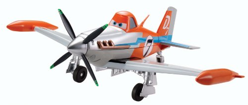 Disney Planes Deluxe Talking Dusty Crophopper Plane by Mattel