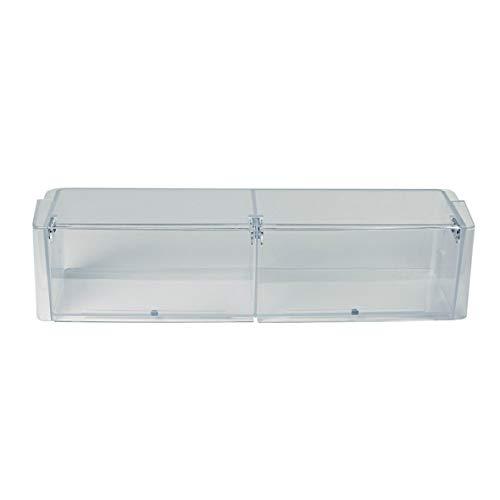 Seitenfach für Kühlschranktüre Türfach für Kühlschrank von Siemens 00448795 Bosch Balay Neff Käsefach Butterfach mit Klappen