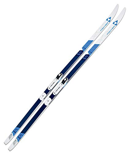Fischer Spirit Crown My Style 189cm Langlaufski Nordic Classic + Bindung NIS