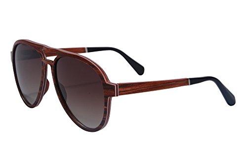 shinu-lunettes-de-soleil-polarisees-pilote-pour-les-hommes-de-bois-veritable-sunglasses-sh73001bois-