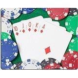 luxlady Gaming tapis de souris d'image: 24878434Royal Flush Combinaison et Poker Chips sur la table casino vert