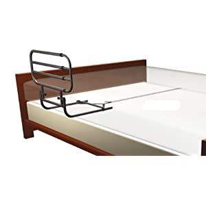 Aufricht- und Aufstehhilfe inkl. verstellbarem Seitengitter für Krankenbetten und normale Betten