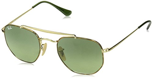 Ray-ban junior 0rb3648 91034m 51 occhiali da sole, marrone (havana gradient green), unisex-adulto