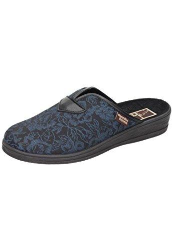 Manitu della Home signora pantofole Blau