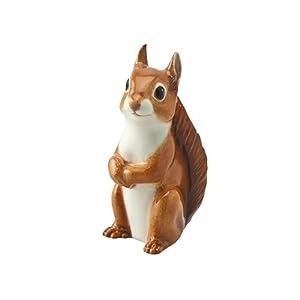 John Beswick JBWM6 Wildlife Ornament Figure Red Squirrel