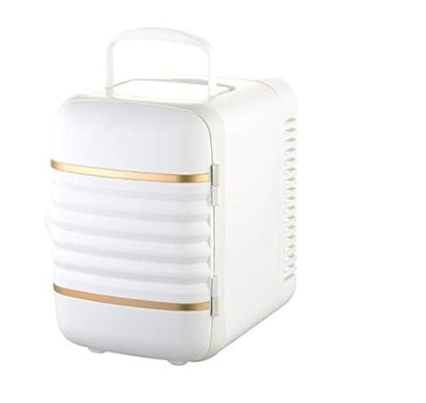 NN 4L Mini-Auto Kleinen Kühlschrank Auto Haus Dual-Use-Kühl-Speicher Heizung Isolierung Auto Kühlschrank , (Kühlschrank Lila)