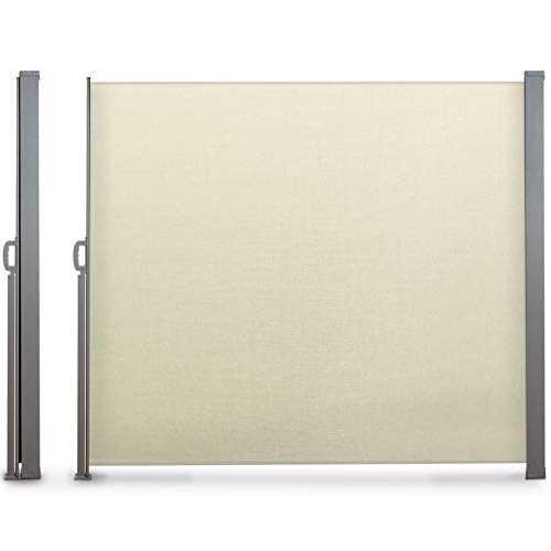 Probache - Paravent extérieur rétractable 300x200cm écru Store Vertical