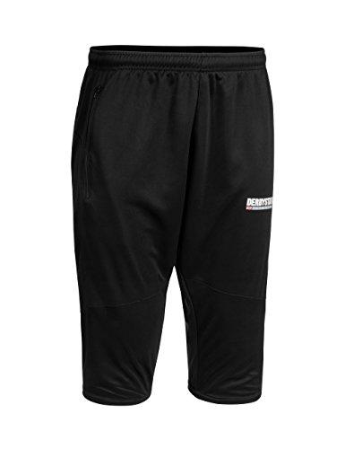 derbystar-pantaloni-sportivi-da-uomo-3-4-brillant-uomo-trainingshose-3-4-brillant-nero-xxxl
