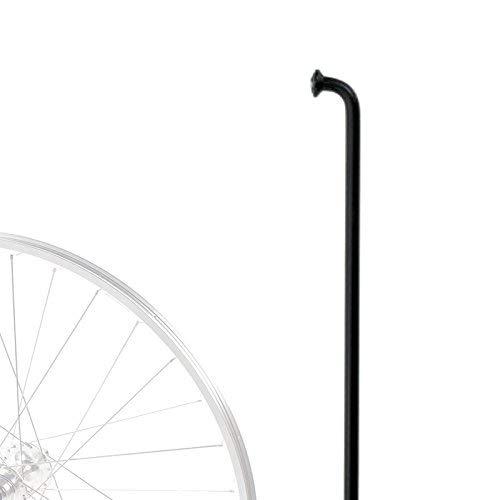 cyclingcolors FAHRRADSPEICHEN SPEICHEN SCHWARZ FAHRRAD 250MM ZU 300MM 14G 2MM QUALITÄT EDELSTAHL FAHRRAD FAHRRADTEILE NABEN (294)