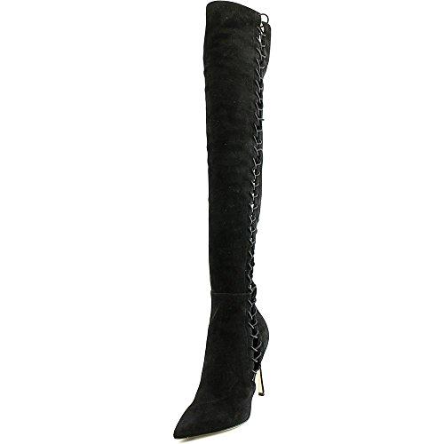 sergio-rossi-scarpe-donna-over-the-knee-damen-us-8-schwarz