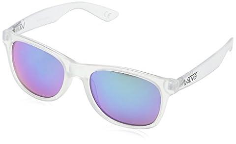 Vans_Apparel Unisex-Erwachsene Sonnenbrille Spicoli 4 Shades Transparent (Translucent-Green), 55