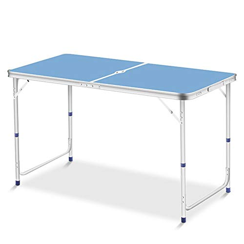 MSF Table Pliante en Plein air Portable Table Pliante Et Chaise Combinaison Ensemble Simple en Alliage D'aluminium Publicité Champ Camping Partie De Loisirs Table + Parapluie Trou
