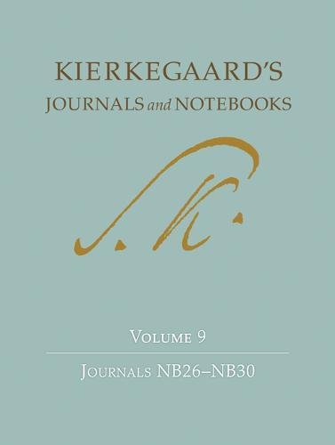 Kierkegaard's Journals and Notebooks, Volume 9 Cover Image