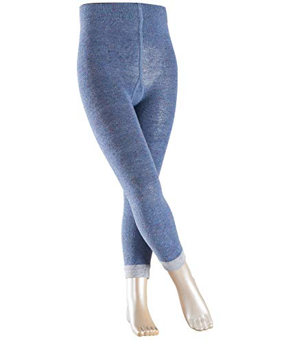 ESPRIT Mädchen Multicolour Pixel Strumpfhose, 100 DEN, Blau (Light Denim 6660), 27-30 (Herstellergröße: 110-116) -