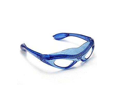Maskenball Spark LED Light-up Brille Blau Blinkt Spider-Man -