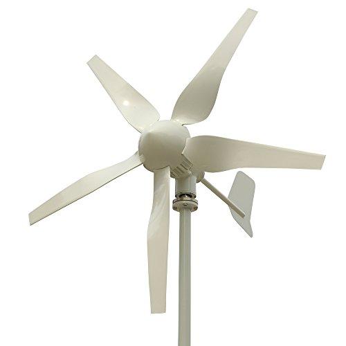 Tumo-Int 400 Watts 5 Schaufel Windkraftanlage mit MPPT Laderegler (12V)