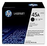 Original HP Toner HP 45A Q5945A schwarz für HP Laserjet M 4345XS MFP/ DTN MFP/ Dtnsl MFP - Bulk / Neutrale Verpackung -