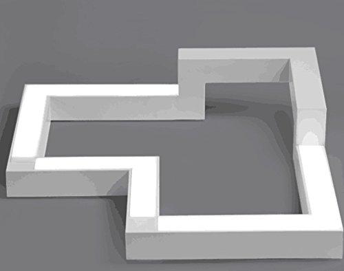 Plafoniere Eleganti Da Soffitto : W led plafoniera moderno acrilico bianca pendente lampadario